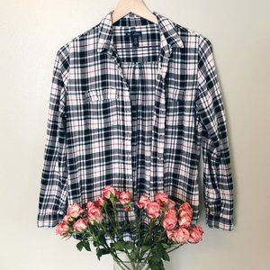GAP Boyfriend Flannel